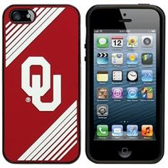 Oklahoma Sooners Two-Piece iPhone 5 Snap-On Case - Crimson