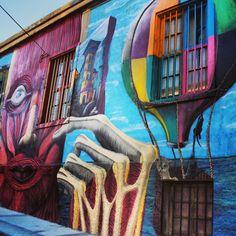 Valparaiso, Chile. Photo by Trent Brandie