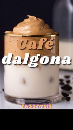 Kitchen Recipes, Wine Recipes, Dessert Recipes, Desserts, Yummy Drinks, Healthy Drinks, Comida Diy, Coffee Drink Recipes, Good Food