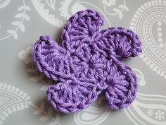 whirly flower crochet pattern