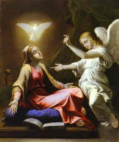 Saint Mary Ave Maria Oil Painting