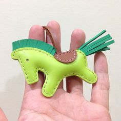 Leather Keychain Beon the Horse