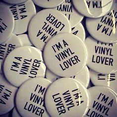 33 . 45 RPM — • Vinyl is the Answer • ⋅ I'm A Vinyl Lover ⋅