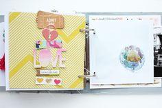 "Minialbum ""Paris"" - Scrap Sweet Scrap"