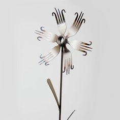 #Garden Flower - Handle Fork | #MerciGifts.com