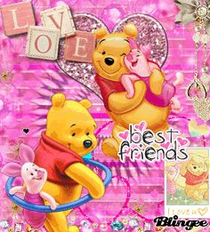 Winnie the Pooh - Best Friends Winnie The Pooh Gif, Winnie The Pooh Pictures, Tigger And Pooh, Winne The Pooh, Winnie The Pooh Friends, Pooh Bear, Eeyore, Disney Cartoon Characters, Mickey Mouse Cartoon
