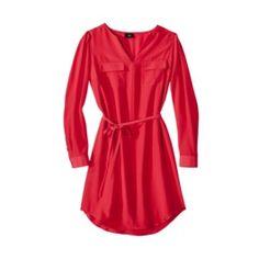 Long sleeve dress!