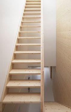 Strips Of Local Spruce Clad Haus Feurstein By Innaueru2010Matt Architekten |  Haus, House And Stairs
