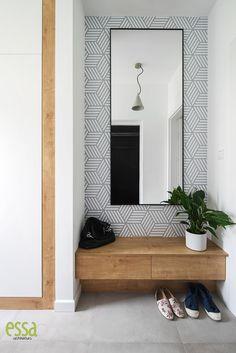 #przedsionek #architektwnętrz #entryhall #interiordesign #essa#ewasłota Living Room Tv, Entry Hall, Industrial Style, Home Office, Pattern Design, Cottage, Rooms, Interior Design, Projects