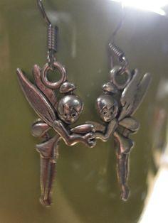 Fairy Earrings Tinker Bell Earrings by Shillys on Etsy, $4.95. Adorable.