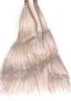 #drawing #dress #color #beige #artwork #sketch #illustration #fashion #design #graphic #beauty