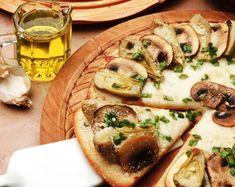 Пицца с грибами - Рецепты пиццы с грибами - Как правильно приготовить