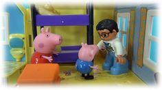 Peppa Pig en français. George mange bonbons. George a mal aux dents. Pep...