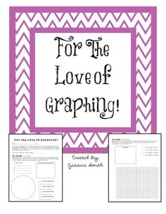 For The Love of Graphing! Circle Graph, Circle Bar, Teaching Science, Student Learning, Teaching Ideas, Scatter Plot, Graphing Activities, Bar Graphs, Math Classroom