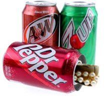 The soda can safe offers a secret hiding spot for your coolest items. Brand name sodas are modified to hide a hidden compartment. One of our coolest items! Hidden Safe, Hidden Gun, Pampered Chef Can Opener, Secret Hiding Spots, Hiding Places, Diversion Safe, Can Safe, Hide Money, Hidden Compartments