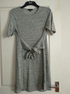 Maxi Size 14 Bnwt New Beautiful New Look Ladies Maternity Kamono Wrap-around Dress