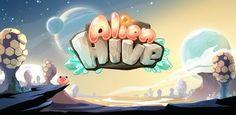 Alien Hive iOS banner title logo game