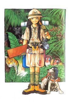 Takeshi Obata, Hikaru no Go, Sai - Hikaru no Go Illustrations, Hikaru Shindo