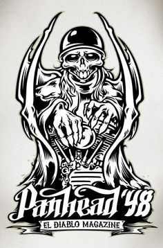 El Diablo Mag. Devil by Alex Patrocinio, via Behance