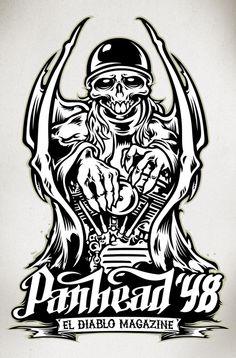 El Diablo Mag. Devil by Alex Patrocinio, via Behance