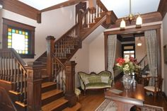 Victorian Farmhouse Staircase - Bing Images