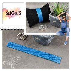 Bracelet montre Poiray cuir lézard - Aloa'S créations Bath Mat, Creations, Home Decor, Instagram, Bracelet Making, Bracelet Watch, Fabric, Blue, Leather