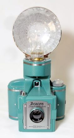 Beacon Two-twenty five (with flash) - 1950's - Whitehouse Products Inc., Brooklyn NY