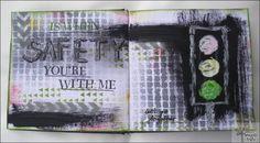 An art journal entry