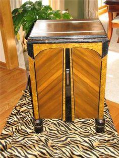 Amazing Antique Art Deco Sewing Cabinet | eBay