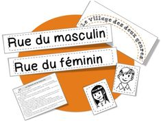CE1: Rseeg: masculin et féminin | Bout de Gomme French Teacher, French Class, French Lessons, Teaching French, French Grammar, French Immersion, Ways Of Learning, School Posters, Learn French