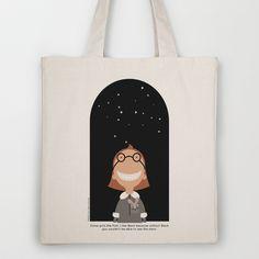 I Like Black Tote Bag by Lisa Jayne Murray - $18.00