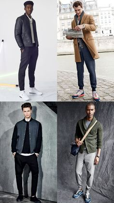Men's Tailored Joggers/Sweatpants Outfit Inspiration Lookbook