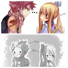 NaLu Fanart - Fairy Tail ~ DarksideAnime  every time -.-
