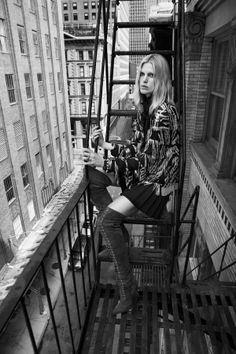 Retro: Iselin Steiro by Josh Olins for Vogue UK