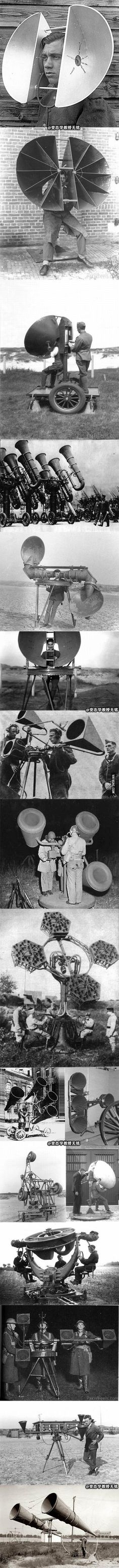How to spot planes before radar was invented