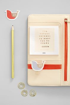 Decorate your kikki.K Blush Pink Planner with these beautiful accessories and get organised in style for the year ahead.