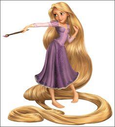 Rapunzel - Tangled - Enredados