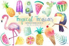 10 Watercolor Fruit Tutorials and Printables: www.dawnnicoledesigns.com