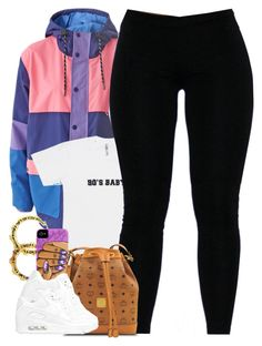 """""""Untitled #1438"""" by power-beauty ❤ liked on Polyvore featuring Lazy Oaf, Fergie, MCM and NIKE"""