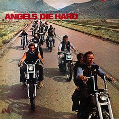 """Angels Die Hard"" (1970, Uni).  Music from the movie soundtrack."