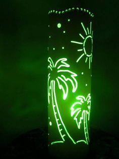Luminária Coqueiros | Vita Luminárias em PVC | 25921B - Elo7