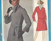 RARE UNCUT Vintage Simplicity Dress Pattern 3949 size 16.  via Etsy. Doesn't she look like Victoria Beckham?