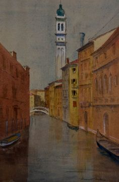 Jean Dryden Alexander - Signed Watercolour Landscape View Year-End Bargain Sale 1911-1994