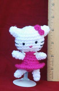 .: FREE Teeny Kitty Crochet Pattern- Inspired by Hello Kitty
