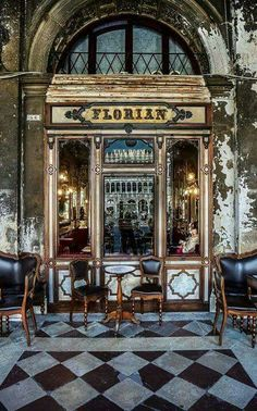 Caffe Florian  Dating back to the 1700's Music every night.......magnificent!