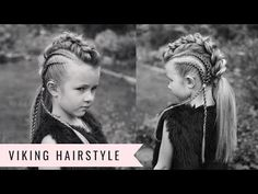 VIKING HAIRSTYLE! Baylee the BRAVE by SweetHearts Hair - YouTube