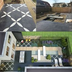 Meer dan 1000 idee n over tuinontwerp op pinterest tuinieren graven en huis en tuin - Ideeen buitentuin ...