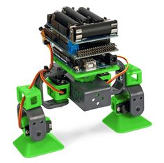 TWO LEGGED ALLBOT® The ALLBOT® is a modular robot system with Arduino® compatible robot shields. Build and enhance the robot, learn how to program, use the app and have fun!