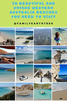30 Beautiful and Unique Western Australia beaches you need to visit. – 2020 World Travel Populler Travel Country Australia Beach, Visit Australia, Western Australia, Australia Travel, Queensland Australia, Scuba Diving Australia, Cottesloe Beach, Jamaica Vacation, Big Island Hawaii