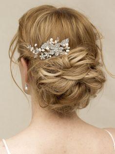 Hair Comes the Bride - Romantic Rhinestone